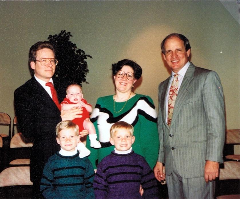 Family Photo - David's Story
